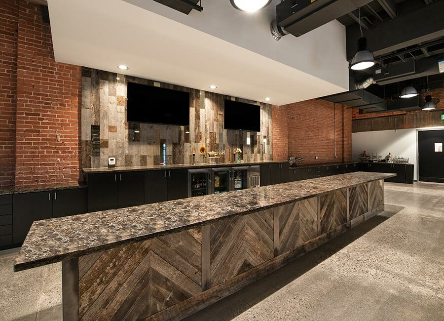 Bar and Buffet Counter